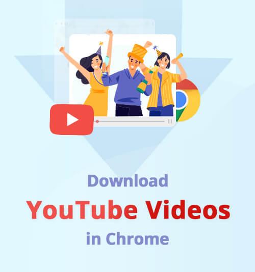 ChromeでYouTube動画をダウンロードする