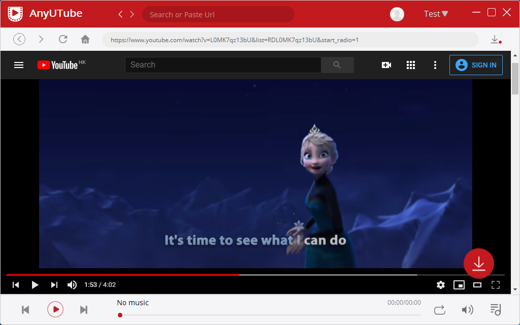 Download YouTube videos with one click