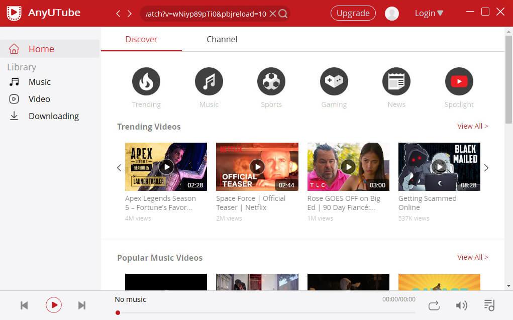 Incolla collegamento video