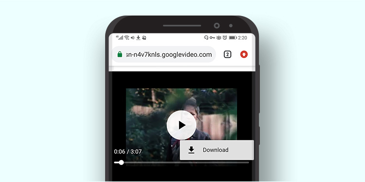 Download video di downloader online AmoyShare