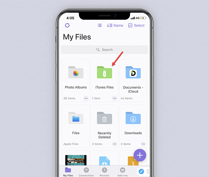 My Files of Documents by Readdle