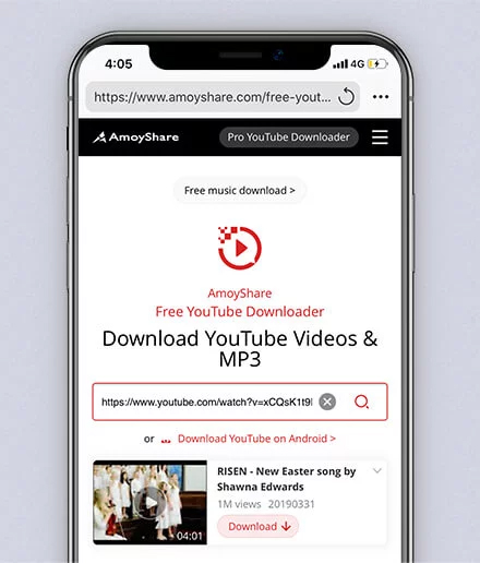 URL-Suche auf YouTube-Wiedergabelisten