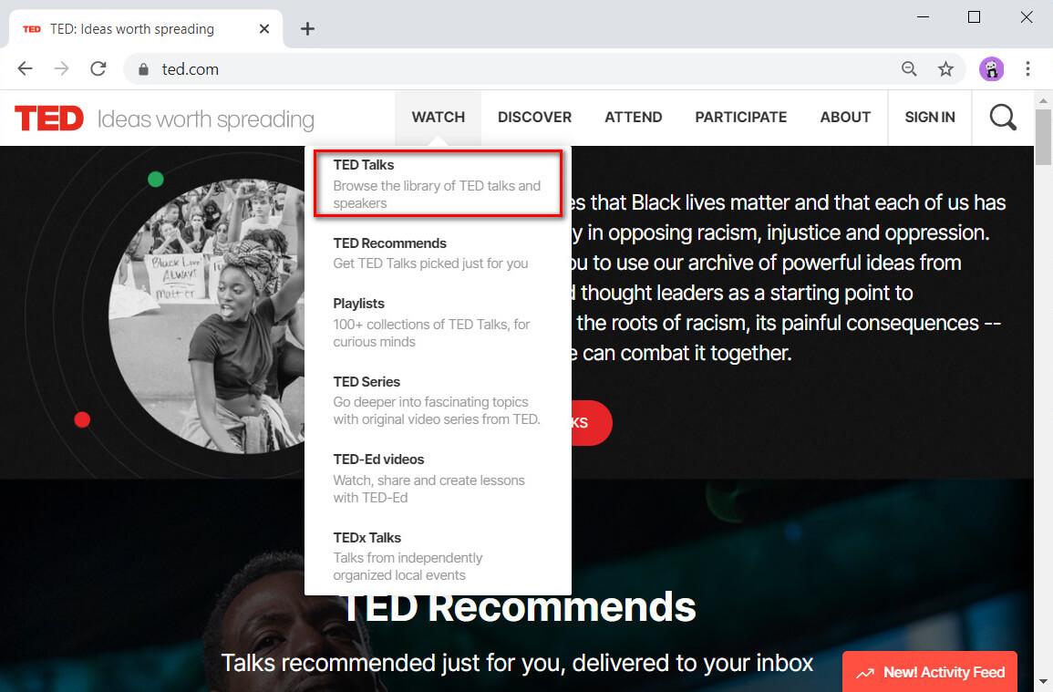 Vai a TED Talks