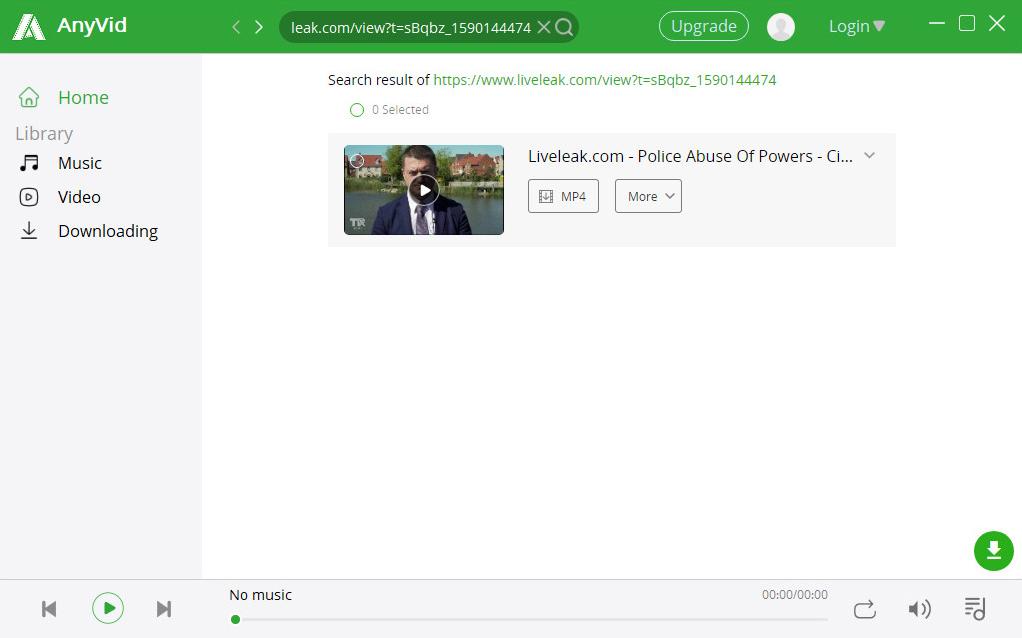 Start searching Liveleak video