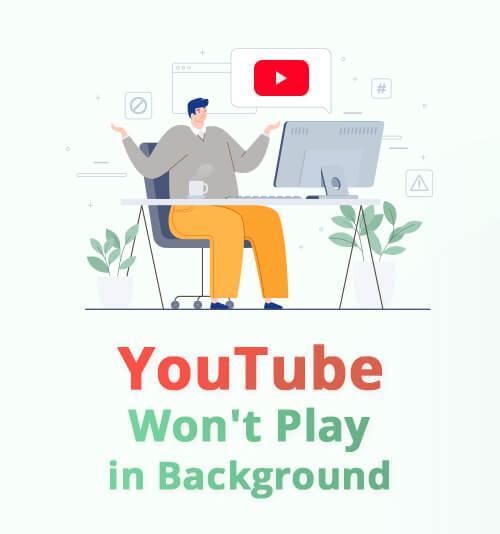 YouTubeがバックグラウンドで再生されない