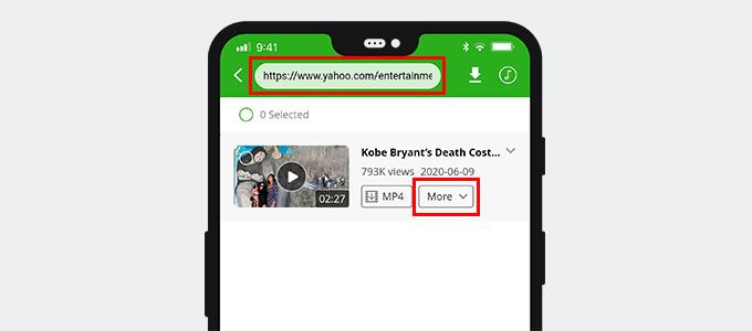 Suchen Sie nach Yahoo-Videos