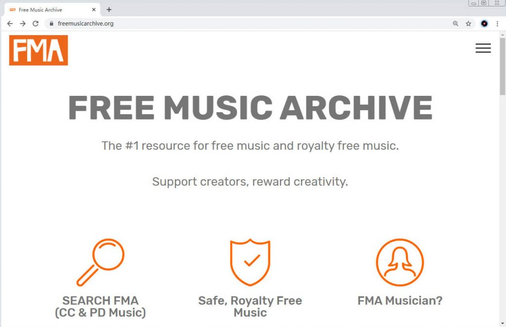 SoundCloud alternatives - Free Music Archive