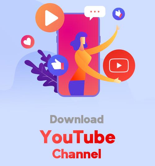 Laden Sie den YouTube-Kanal herunter
