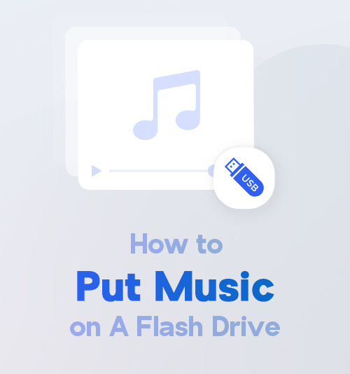 How to Put Music on A Flash Drive