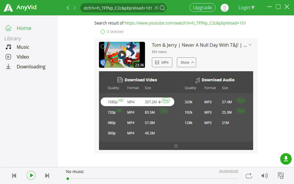 Download video with all video downloader