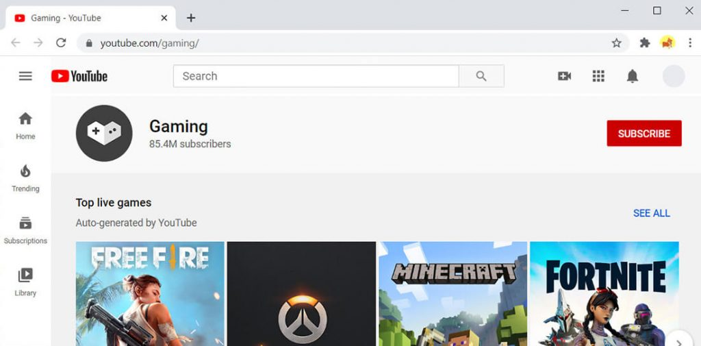 YouTube Gaming - alternative to Twitch