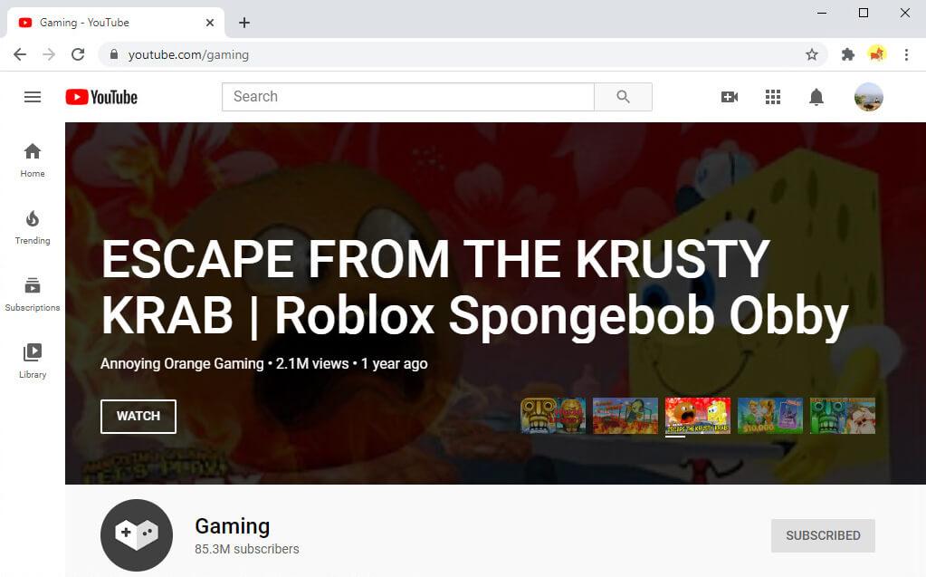 YouTubeゲーム