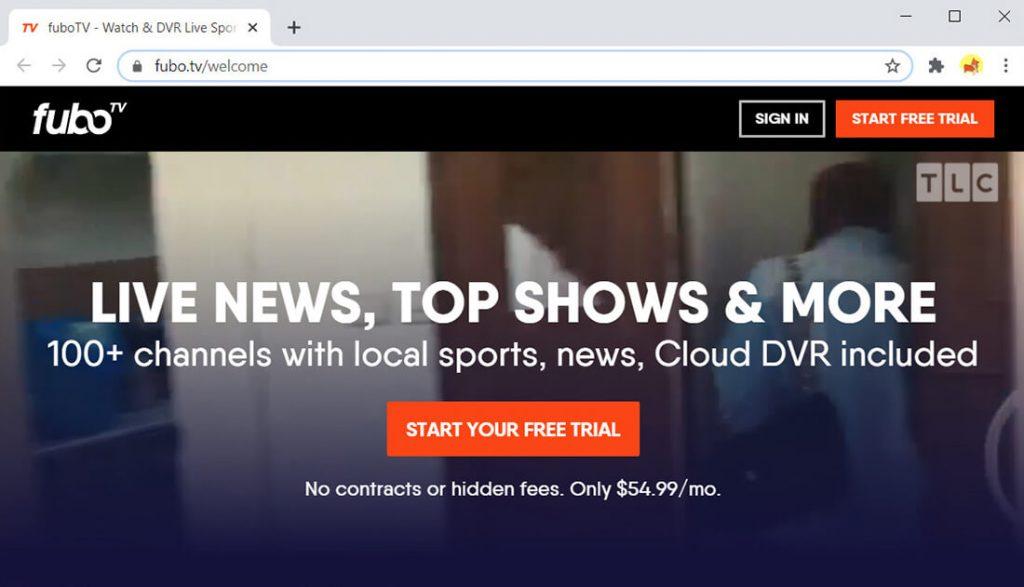 fuboTV-Huluの代替