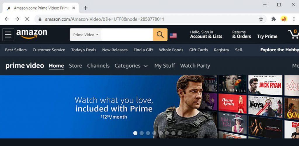 Amazon Prime Video - alternativa a Hulu