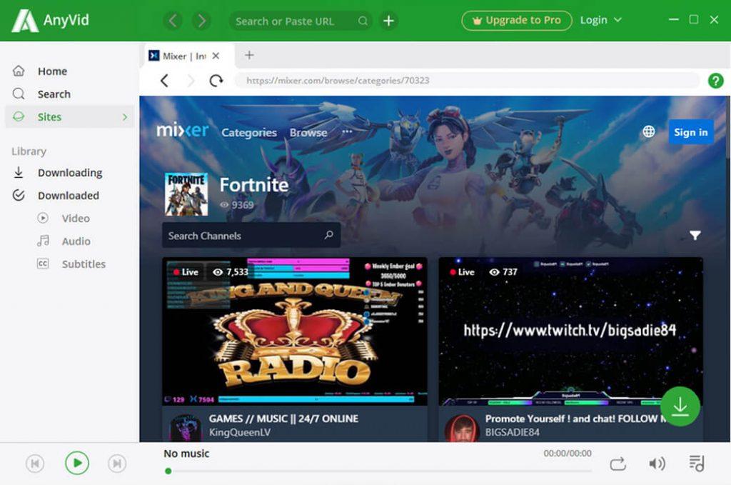 Videos of Fortnite