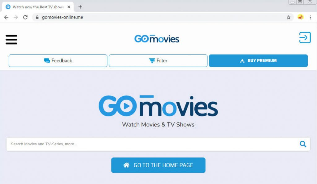 Websites wie FMovies - GoMovies