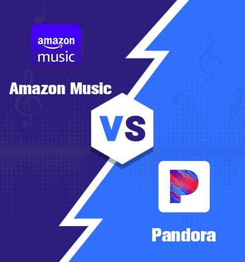 アマゾンミュージックvsパンドラ