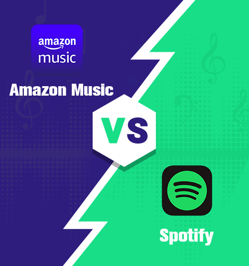 Amazon Music gegen Spotify