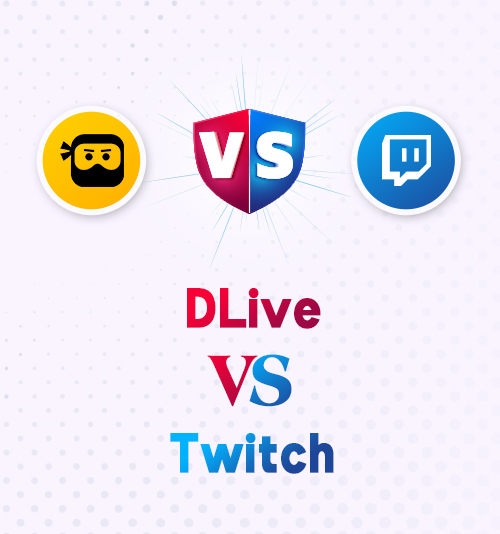 DLlive gegen Twitch