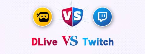 DLive vs Twitch: Streaming and Watching Video Games