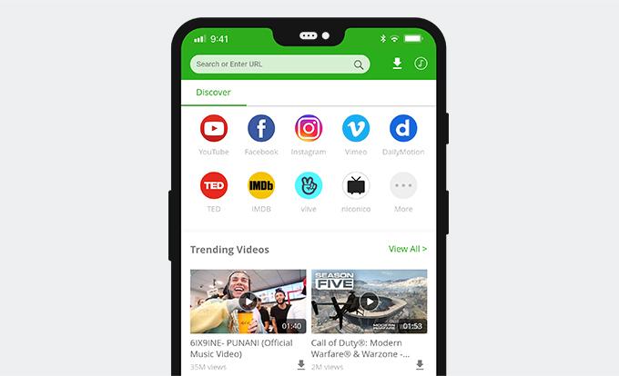 最高のFacebook動画ダウンローダーアプリ-AnyVid