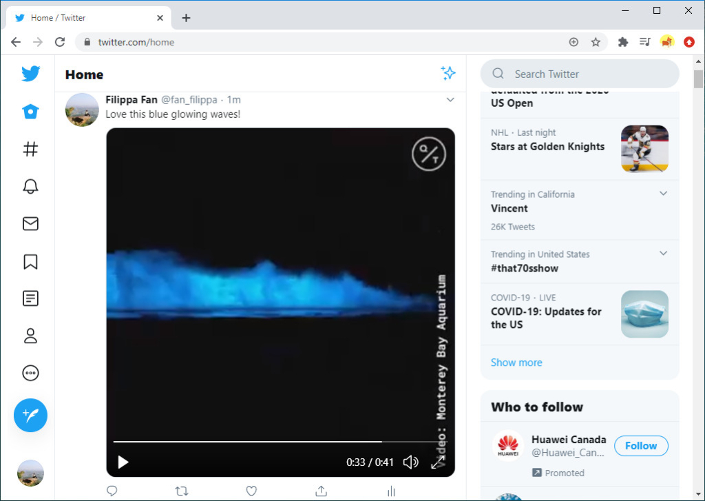 Alter the text when upload video to Twitter