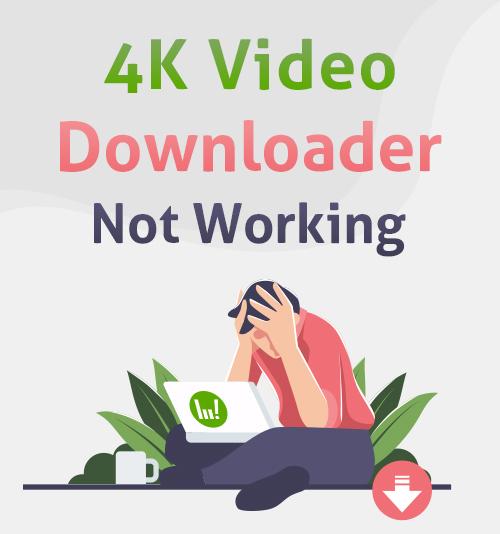 Downloader video 4K non funzionante