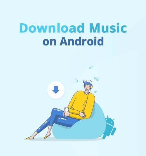 Scarica musica su Android