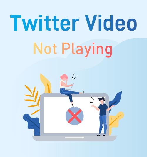 Twitterビデオが再生されない
