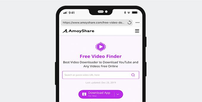 Kostenloser Video Finder