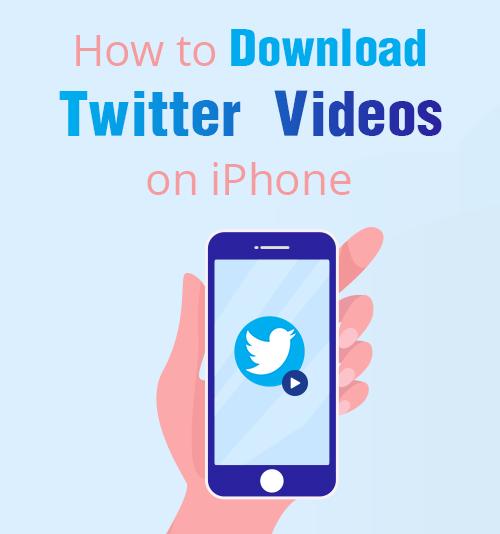 Come scaricare i video di Twitter su iPhone